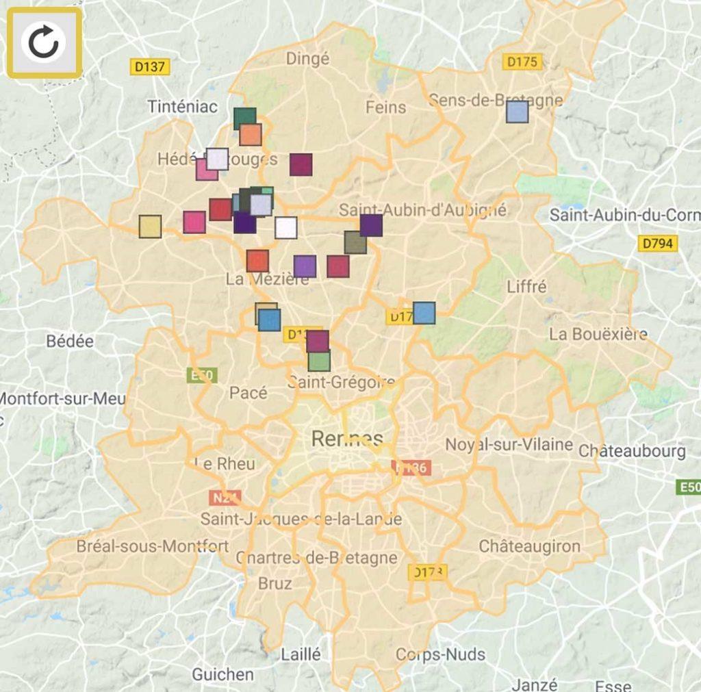 21 km : La tournée locale des producteurs du pays de Rennes