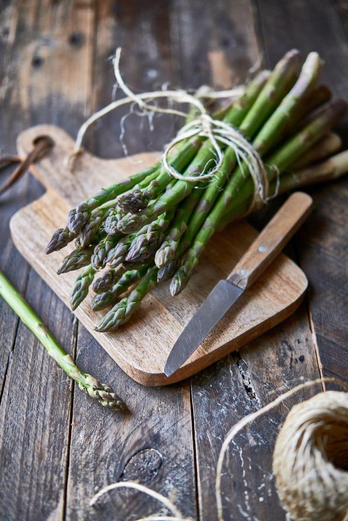 Comment préparer des asperges ?
