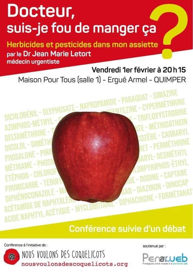 L'appel des coquelicots en Cornouaille : Cycle de débat et conférence.