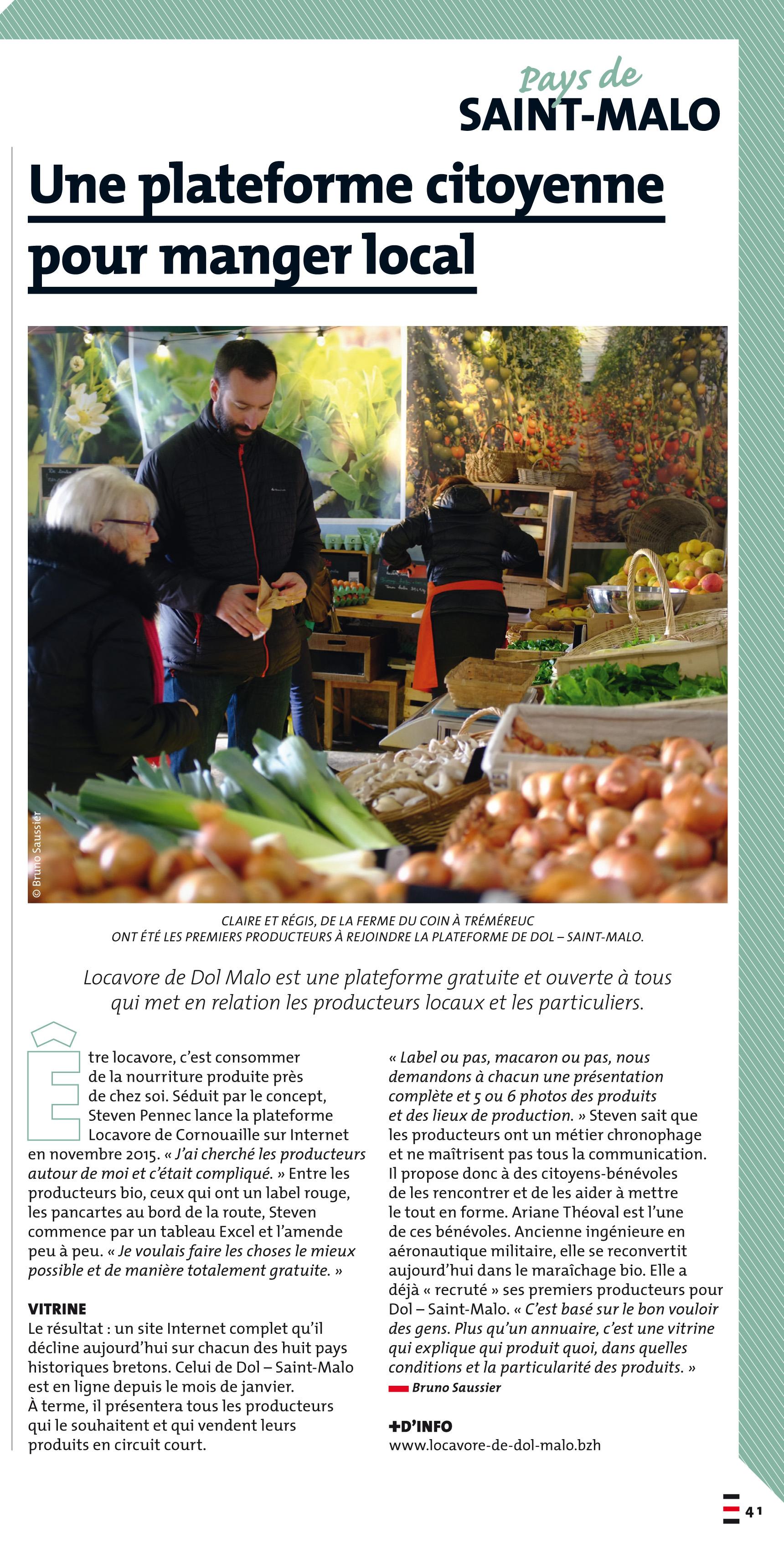 """Nous sommes dans le magazine """"Nous Vous Ille"""" N°121 !"""