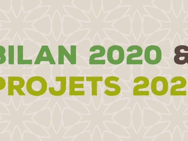 On fait le bilan 2020 !… et on parle des projets 2021.