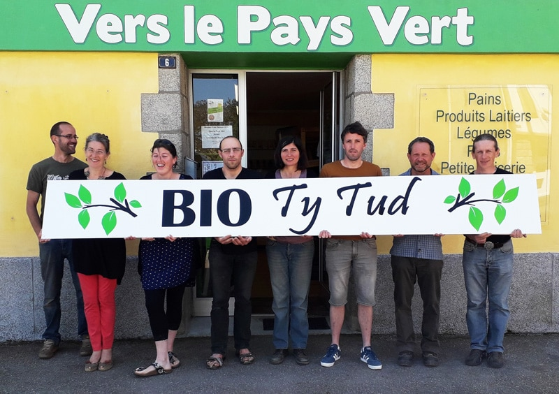 Bio Ty Tud : Le magasin de producteurs à Briec.