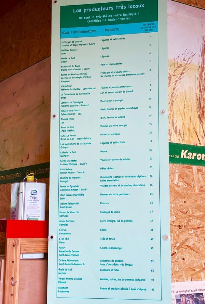 Le Buzuk Ver, une chouette boutique paysanne à Briec (29)