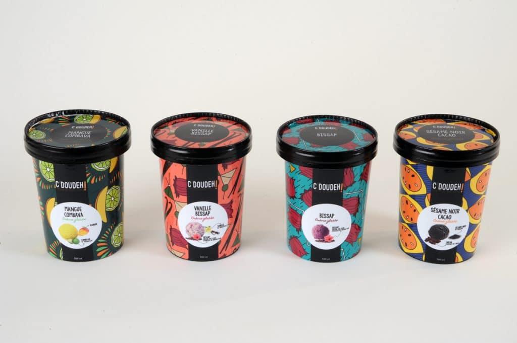 C'doudeh : des crèmes glacées artisanales et locales... au goût d'ailleurs !