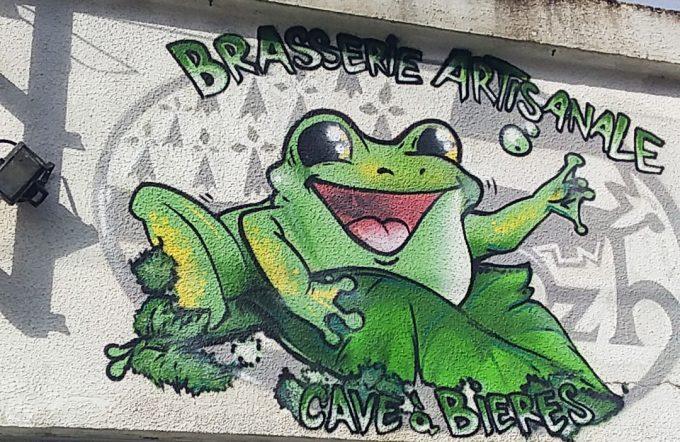 Brasserie La Guernouillette - la grenouille