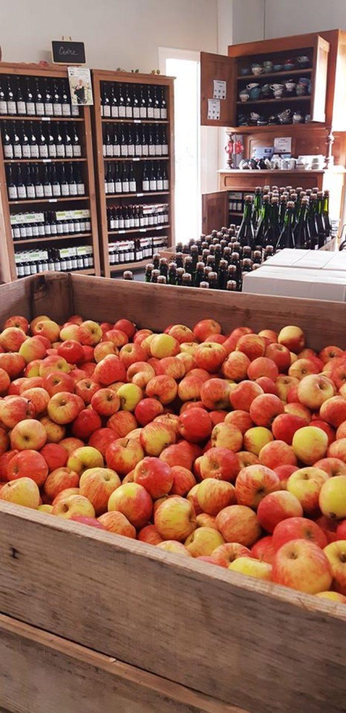 Cidrerie Kerloîck - pommes et cidres