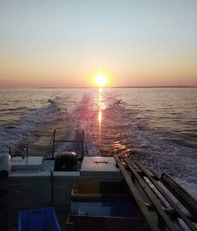 Le Petit Crabier - lever de soleil