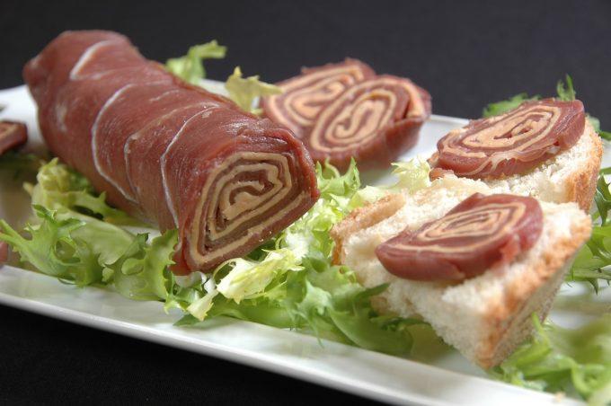 La Ferme du Luguen - roulé au foie gras
