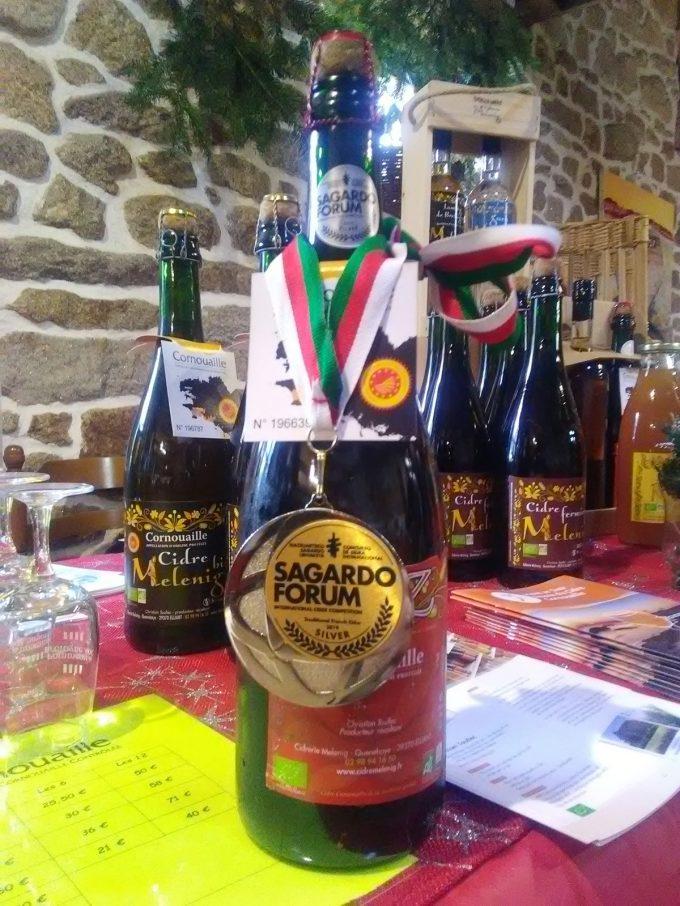 Cidrerie Melenig - bouteille et prix