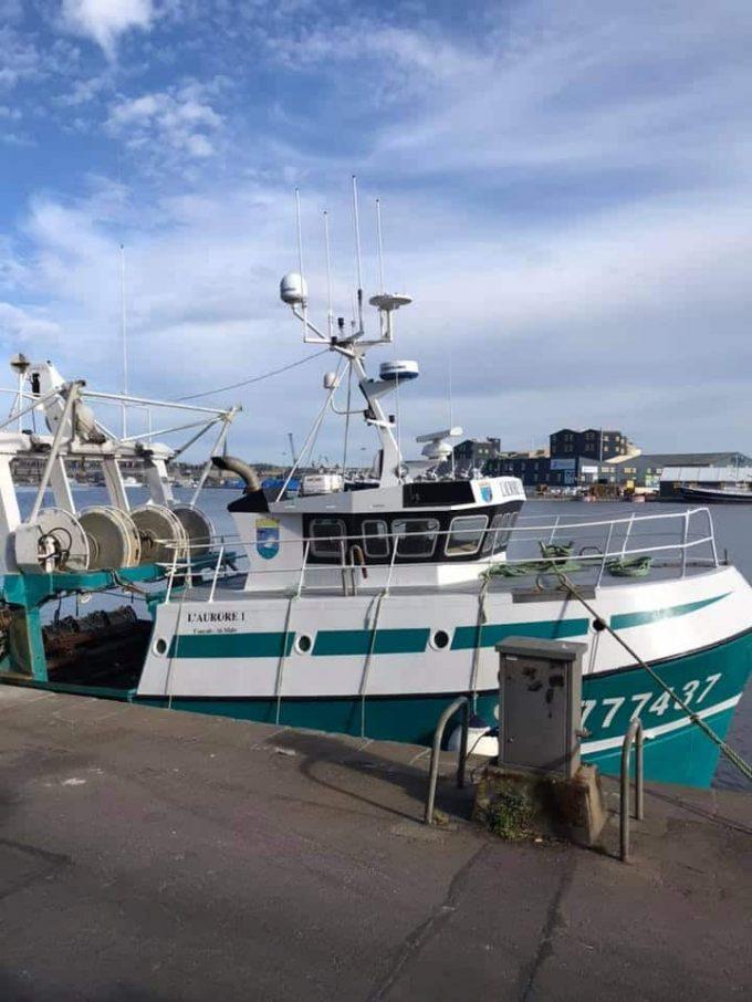 L'Aurore - bateau à quai