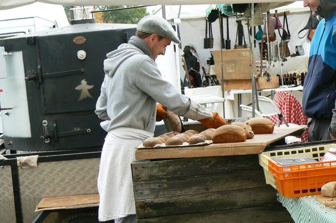 Atelier des Pains - façonnage des pains