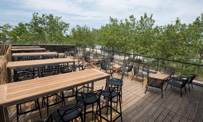 Awen Brew Pub - terrasse