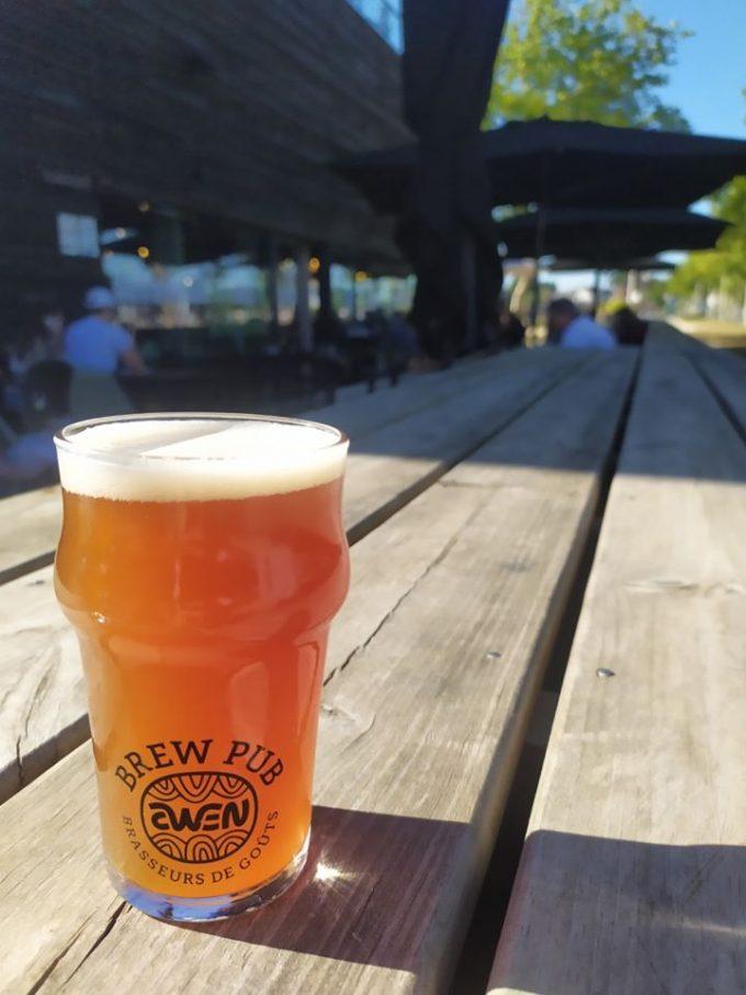 Awen Brew Pub - awen blonde