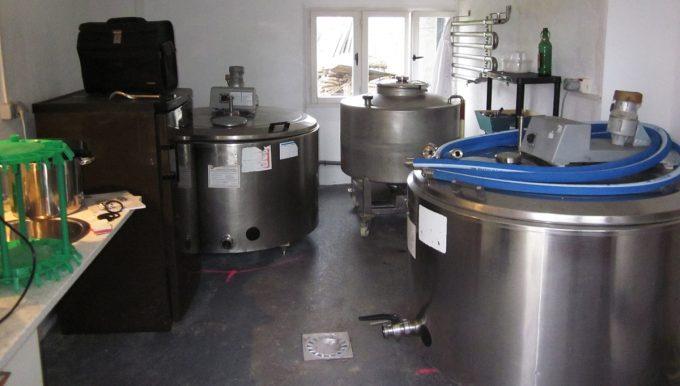 Brasserie de l'Estran - installations brassicoles