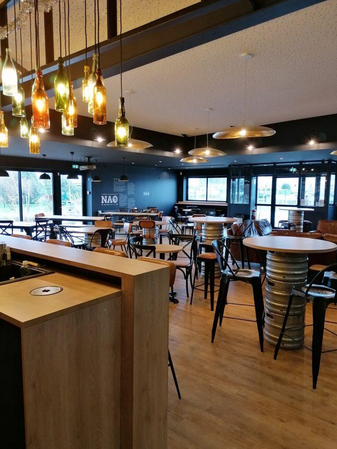 Brasserie NAO - intérieur de la brasserie