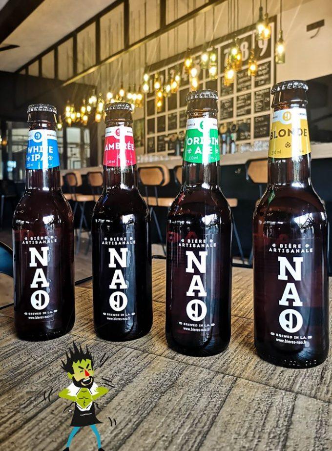 Brasserie NAO - bières en bouteilles