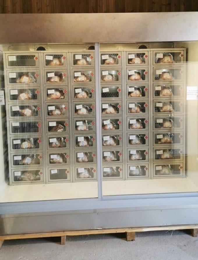 La Ferme de Penhaudan - distributeur automatique