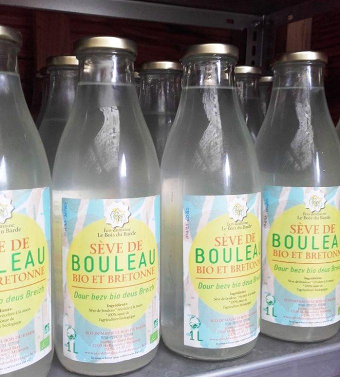 Le Bois du Barde - sève de bouleau en bouteilles