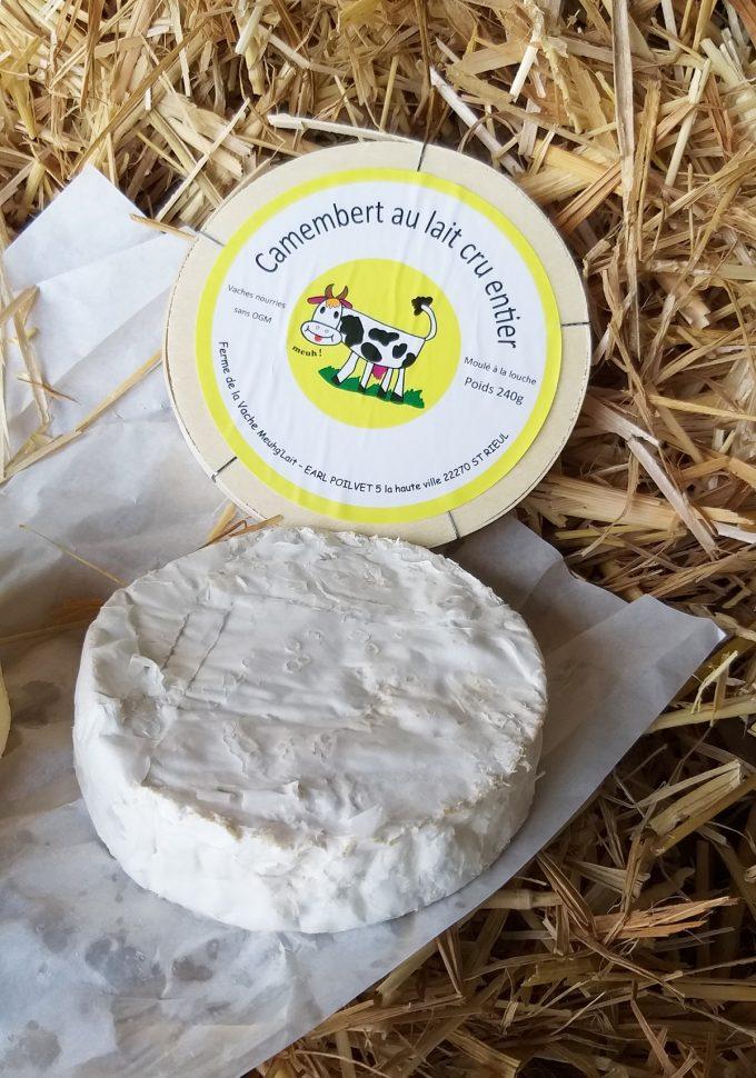 Ferme de la Vache Meugh Lait - camembert au lait cru