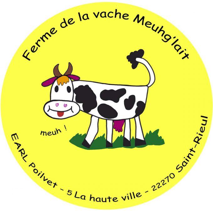 Ferme de la Vache Meugh Lait - logo