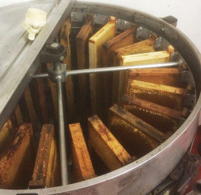 Le Rucher de la Baie - centrifugeuse à miel