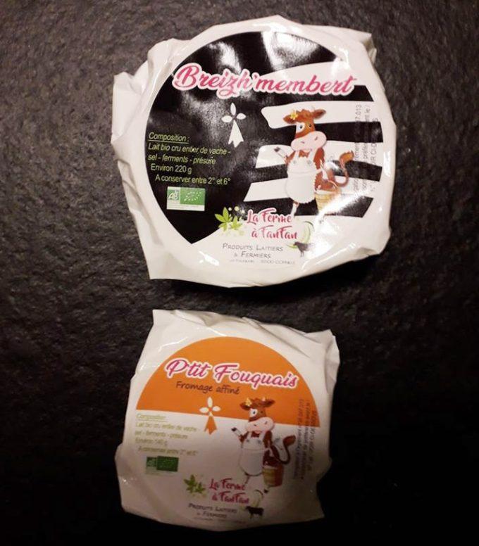 La Ferme à Fanfan - Fromages dont le fameux Breizh'membert