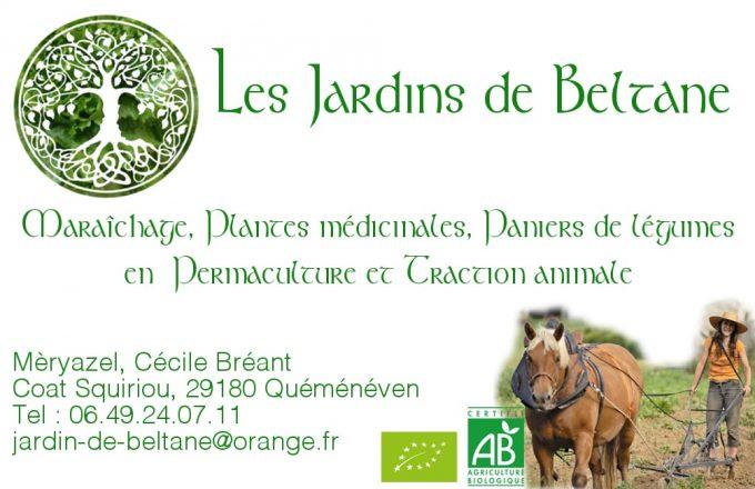 Les Jardins de Beltane - légumes bio de Cornouaille