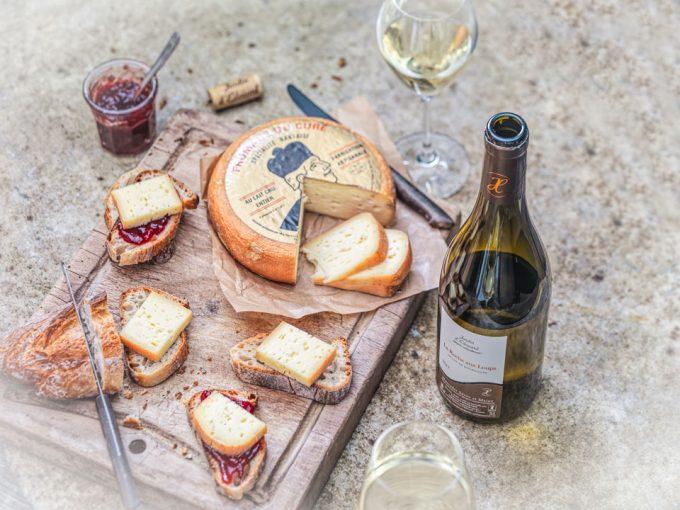 Le Jardin d'Édouard - dégustation avec fromages