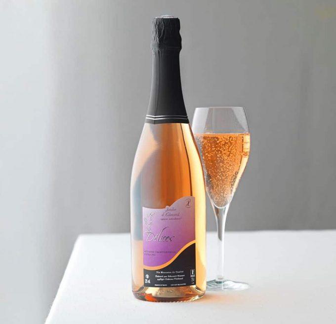 Le Jardin d'Édouard - vin rosé pétillant