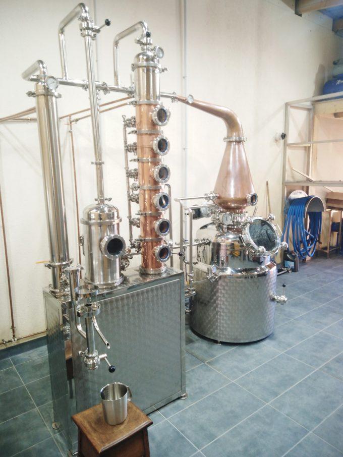 Distillerie Heroult - matériel alambic