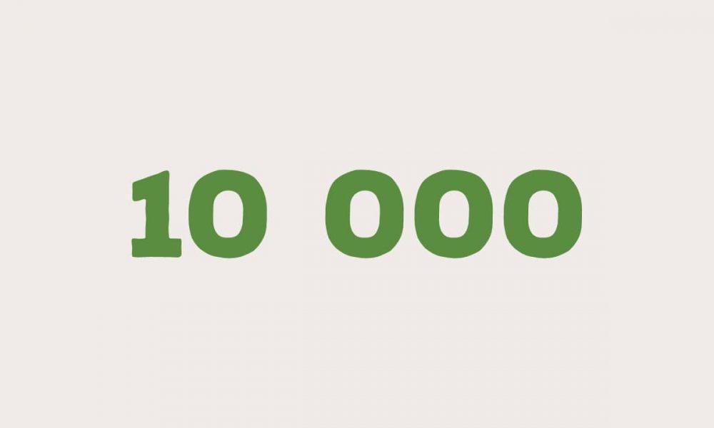 Près de 10 000 visiteurs sur une seule journée ! 💪