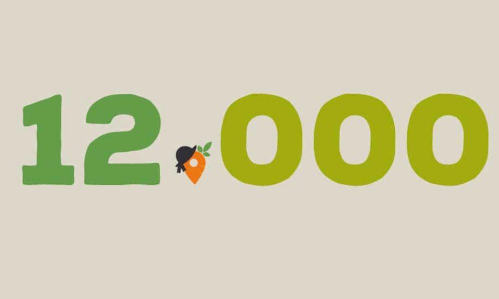On est 12 000 sur Facebook ! 😳😲