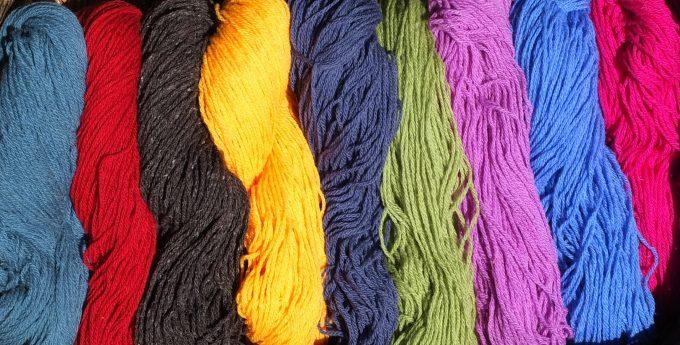 Nuancier de laines