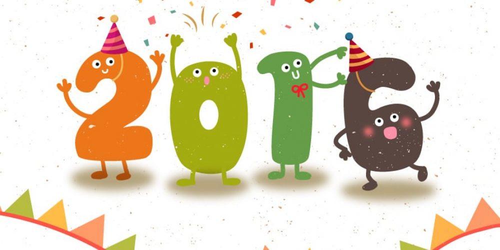 Très belle année 2016 à tous !