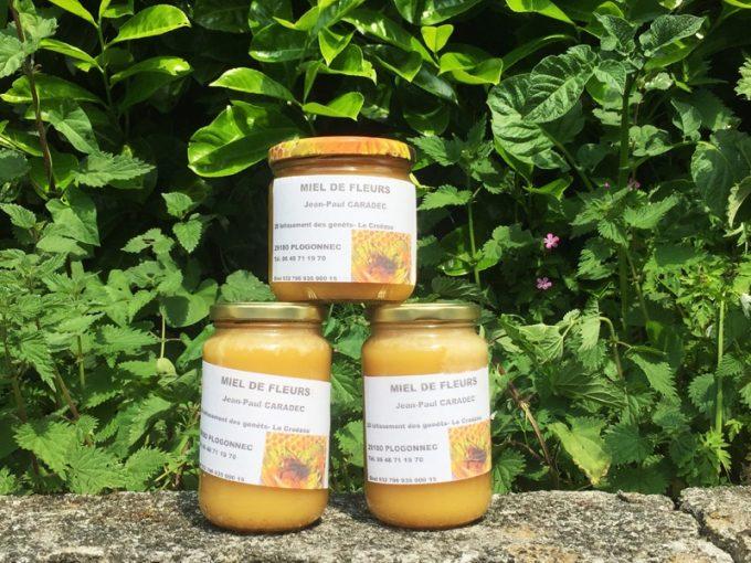 Pots de miel artisanal