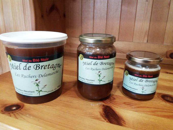 Les Ruchers Delamarche - miel de blé noir