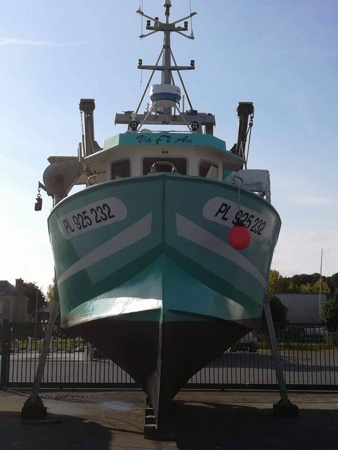 Armement Vafian - navire Vafian hors d'eau