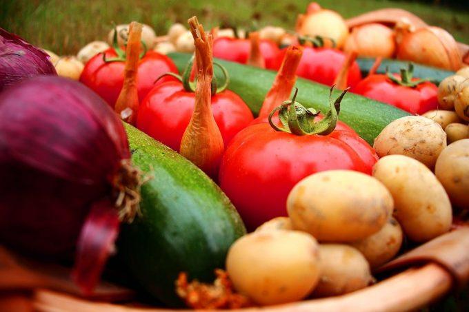 Joli parnier de légumes
