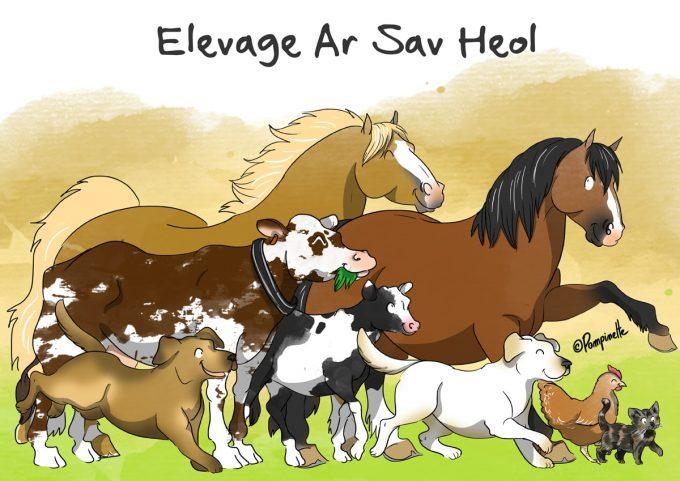 Élevage Ar Sav Heol - logo
