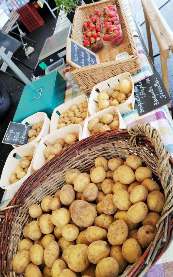 Au Jardin de l'Ellez - pommes de terre bio