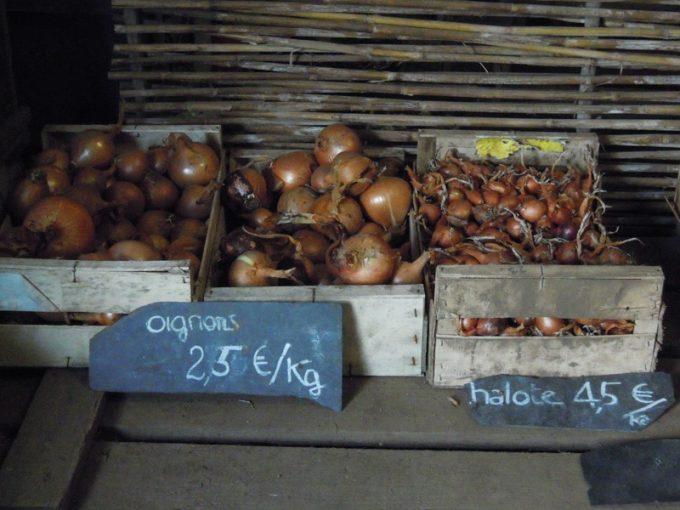 Légumes variés au détail ou panier