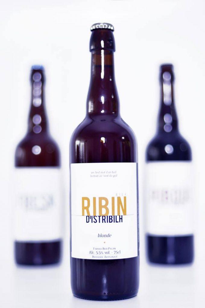 Bière Ribin - Brasserie D'Istribilh