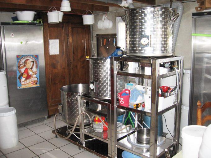 Micro-brasserie de garage