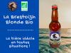 La Brestoizh, bière blonde bio