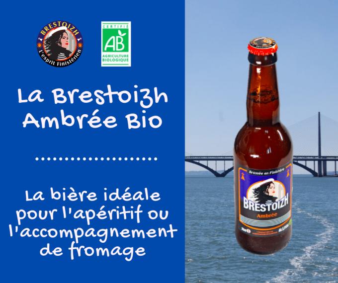 La Brestoizh, bière ambrée bio