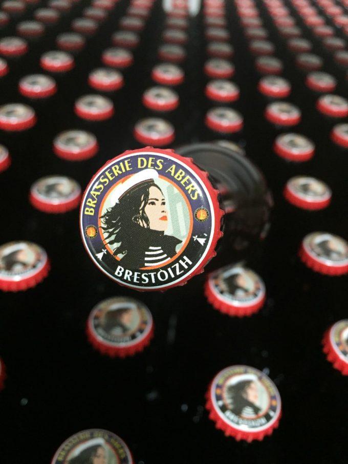 Bouteilles de bières la Brestoizh