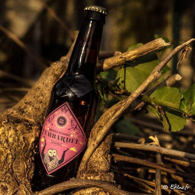 Bière brune de Brasserie l'Embardée
