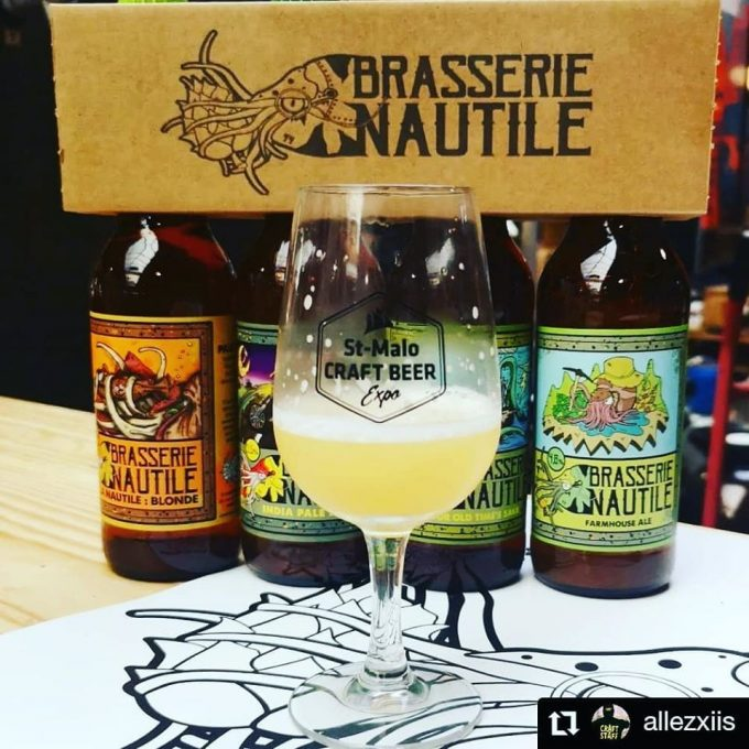 Brasserie Nautile - pack 4 bières