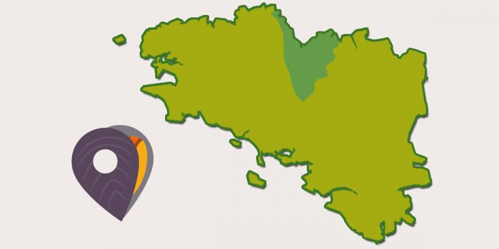Le Pays de Saint-Brieuc, fondé par un moine du Pays de Galles.