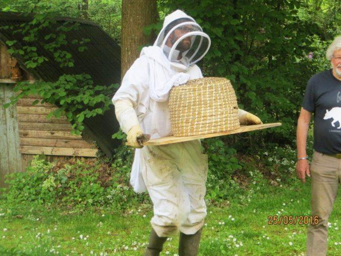 Hervé, également apiculteur